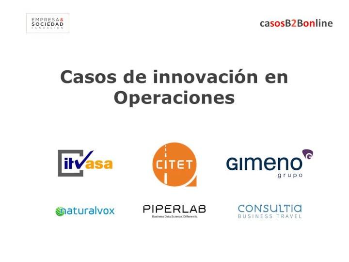 Casos B2B de Innovación en Operaciones