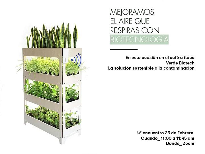 Café a ítaca con... Verdeobiotech, la solución sostenible a la contaminación